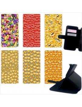 Custodia cover foderino LIBRO portafoglio per tutti Cellulari Samsung 1 FA2