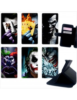 Custodia cover foderino LIBRO portafoglio per tutti Cellulari Samsung 1 FA3