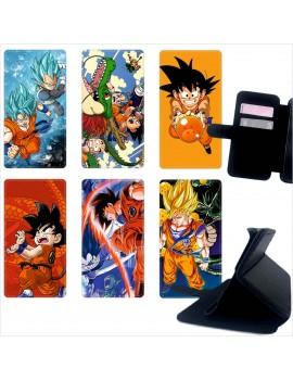 Custodia cover foderino LIBRO portafoglio per tutti Cellulari Samsung 1 FA10