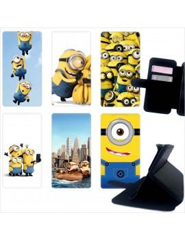 Custodia cover foderino LIBRO portafoglio per tutti Cellulari Huawei 1 FA5