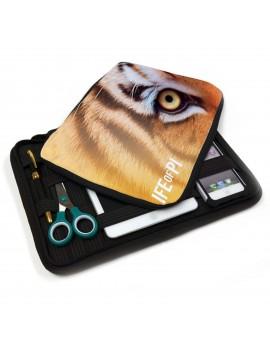 Custodia cartella multifunzione per tablet e smartphone