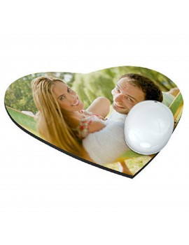 Mousepad tappetino mouse CUORE 19*23,5 CM 3mm