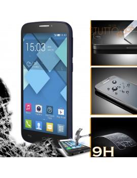 Pellicola vetro temperato proteggi schermo 9H per Alcatel Alcatel one touch POP C7 7041d