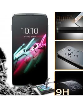 Pellicola vetro temperato proteggi schermo 9H per Alcatel One Touch Idol 3 (4.7) 6039Y