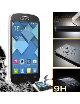 Pellicola vetro temperato proteggi schermo 9H per Alcatel One Touch Pop C3 4033A 4033E