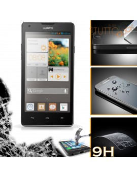 Pellicola vetro temperato proteggi schermo 9H per Huawei Ascend G740