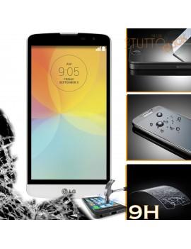 Pellicola vetro temperato proteggi schermo 9H per LG L Bello D331 D335