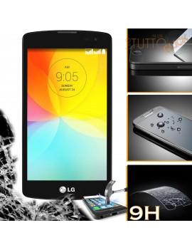 Pellicola vetro temperato proteggi schermo 9H per LG L Fino D295 D290