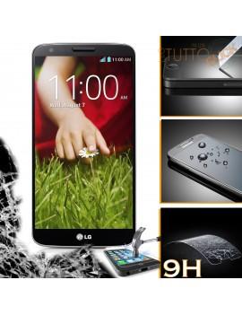 Pellicola vetro temperato proteggi schermo 9H per LG Optimus G2 D801 D802
