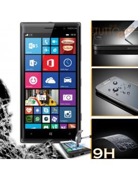 Pellicola vetro temperato proteggi schermo 9H per Nokia lumia 830