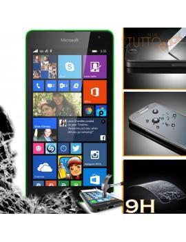 Pellicola vetro temperato proteggi schermo 9H per Nokia Microsoft Lumia 535