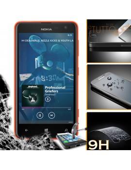 Pellicola vetro temperato proteggi schermo 9H per Nokia Microsoft Lumia 625