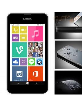 Pellicola vetro temperato proteggi schermo per Nokia lumia 530