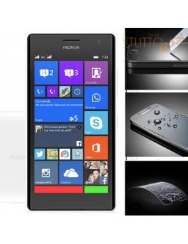 Pellicola vetro temperato proteggi schermo per Nokia lumia 730
