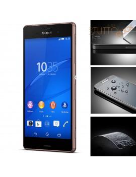 Pellicola vetro temperato proteggi schermo per Sony Xperia Z3 D6603 D6653
