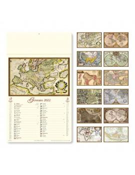 ANTICHE MAPPE - MENSILE 12 FOGLI