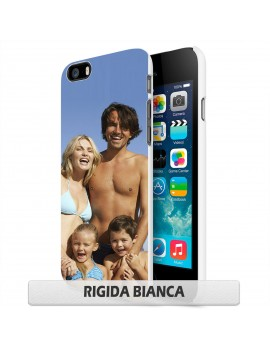 Cover per Wiko Rainbow 3g/ 4G  - RIGIDA / bordo bianco