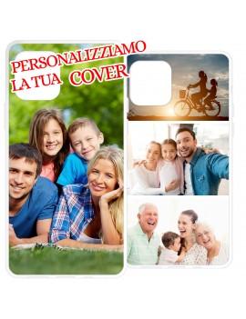 Custodia cover PERSONALIZZATA FOTO COLLAGE per HUAWEI GEL silicone morbida PE1