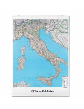 CARTINA ITALIA - CORREDATA DI ASTINE