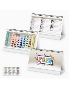 Calendario personalizzabile da scrivania personalizzato 2020 Gadget Promo PA730