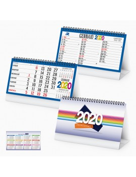 Calendario personalizzabile da Tavolo personalizzato 2020 Gadget Natale PA725