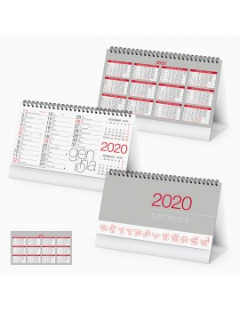Calendario personalizzabile da Tavolo personalizzato 2020 Gadget Natale PA720