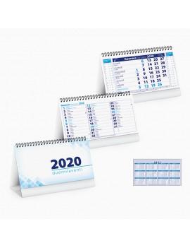 Calendario da tavolo personalizzato 2020 Gadget natalizi Promozionali PA715BL