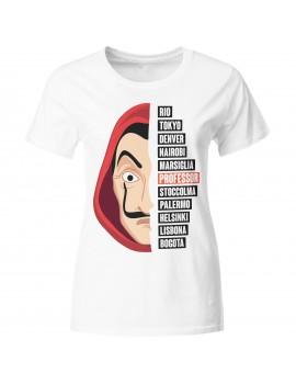 T-shirt manica corta Maschera Dalì serie 3