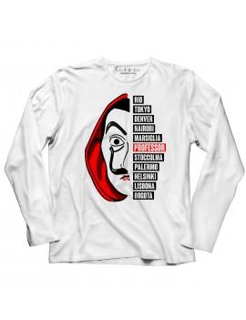 T-shirt manica lunga Maschera Dali serie 3