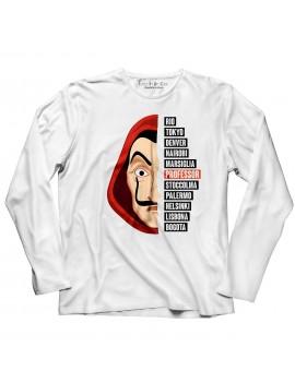 T-shirt manica lunga Maschera Dalì serie 3