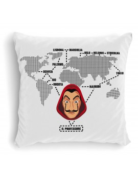 Cuscino Mappa Dalì serie 3