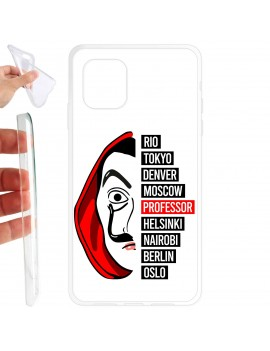 Cover smartphone Maschera Dalì e nomi
