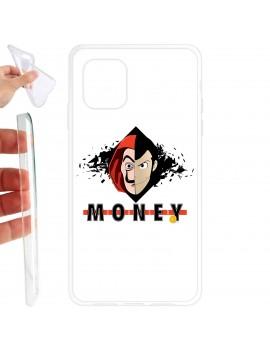 Cover smartphone Dalì money Lupin