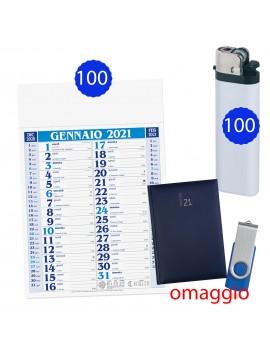 100 calendari olandesi + 100 accendini + omaggio Agenda e...