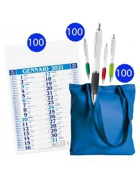 100 calendari olandesi + 100 shopper in tnt + 100 penne...