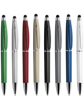 STYLUS - PENNA A SFERA CON GOMMINO PER TOUCH SCREEN