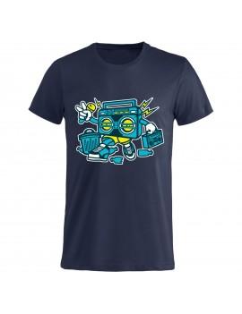 T-shirt Uomo donna bambino - Stereo GR176 - cartoni...