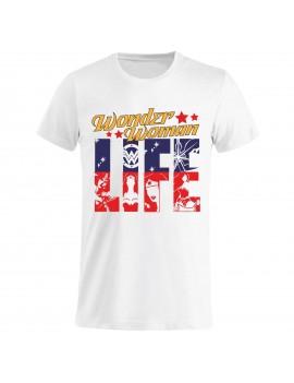 T-shirt Uomo donna bambino - Wonder Woman Life GR268 -...