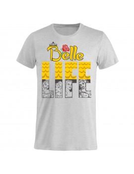 T-shirt Uomo donna bambino - Belle Life la bella e la...