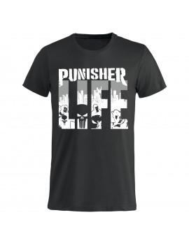T-shirt Uomo donna bambino - Punisher Life GR273 -...
