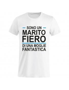 T-shirt Maglietta festa del Papà - Marito fiero GR5 -...