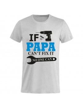 T-shirt Maglietta festa del Papà - Se non lo aggiusta...