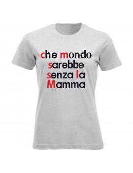 T-shirt Maglietta festa della Mamma - Mamma nutella GR25...