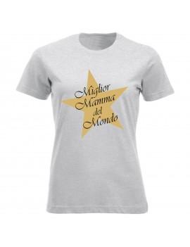T-shirt Maglietta festa della Mamma - Best Mamma GR52 -...