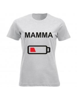 T-shirt Maglietta festa della Mamma - Low Battery GR70 -...