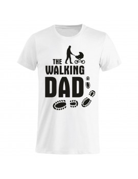 T-shirt Maglietta festa del Papà - The walking Dad GR84 -...