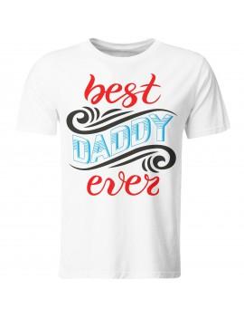 Maglia maglietta t shirt festa del Papà regalo IL MIGLIOR PADRE DI SEMPRE GR414