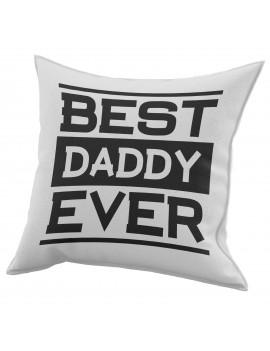 Cuscino in cotone per festa del Papà regalo MIGLIOR PADRE DI SEMPRE GR411