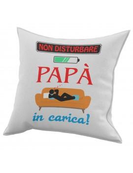 Cuscino in cotone per festa del Papà idea regalo marito NON DISTURBARE GR415