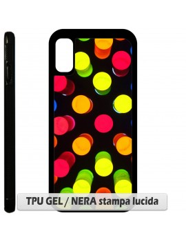 Cover per Apple Iphone X - TPU GEL / NERA sb